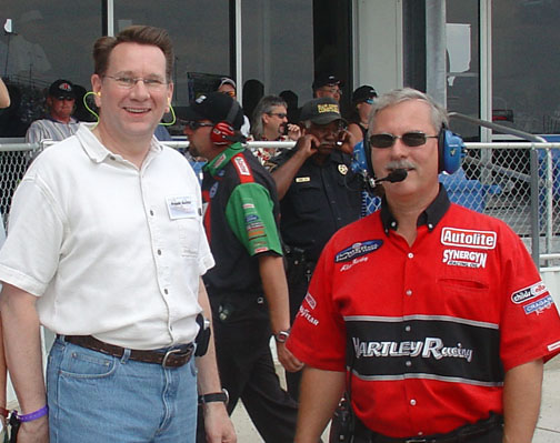 Allen Hartley on DBU and Racing